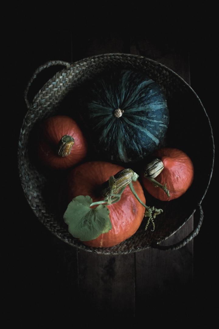 Pumpkin galettes